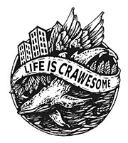 LIFE IS CRAWESOME