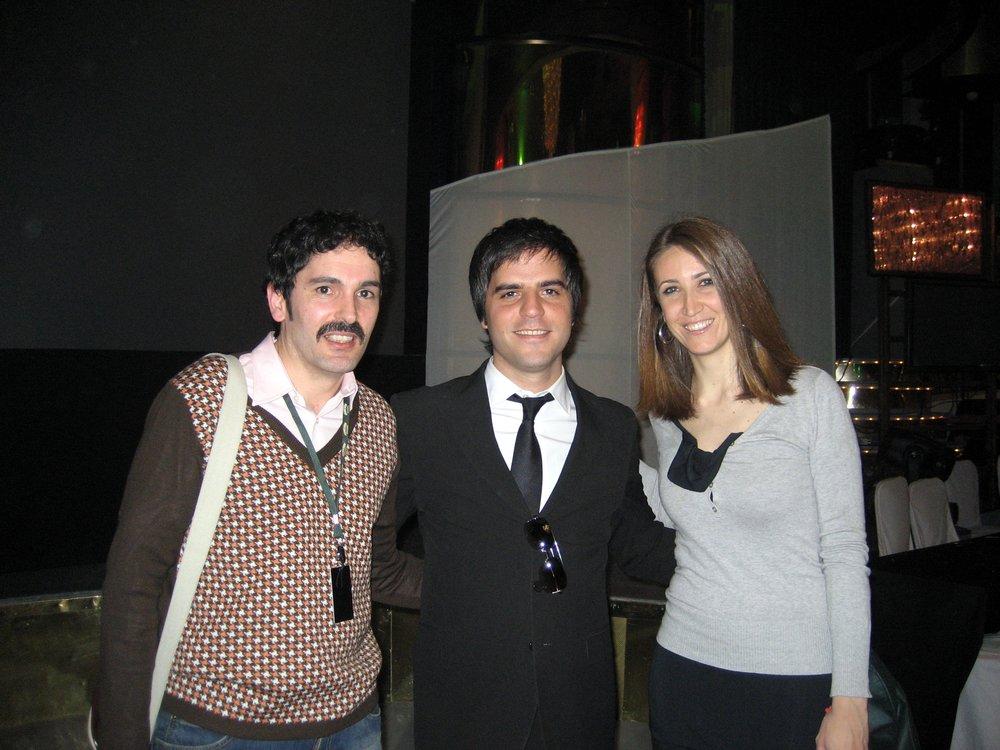 Ernesto Sevilla y Vicky