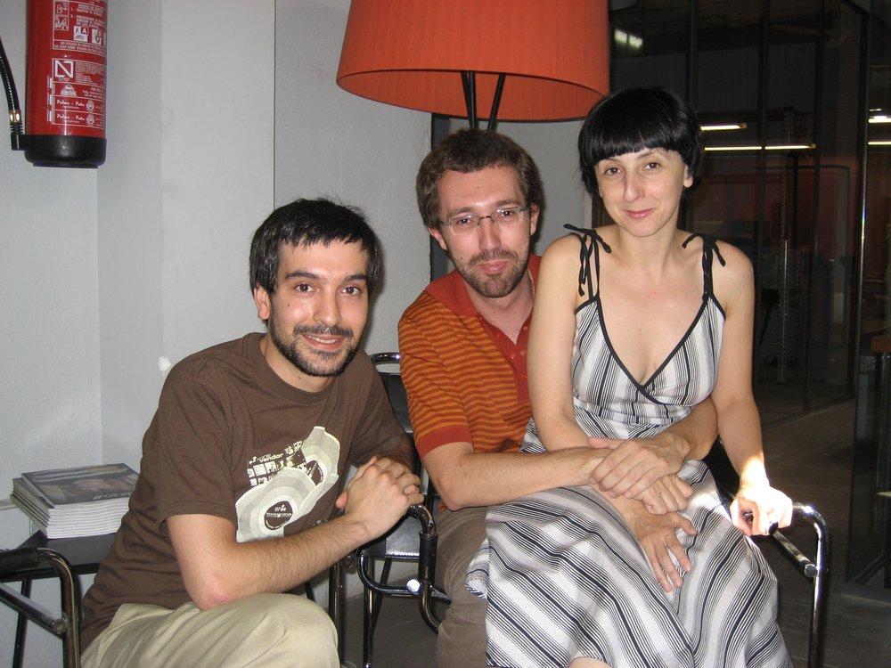 David, Emilio y Nani (Notodo)