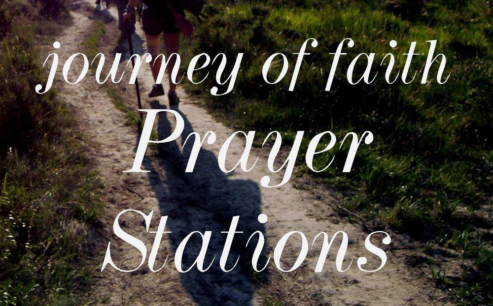 Journey of Faith Prayer Stations