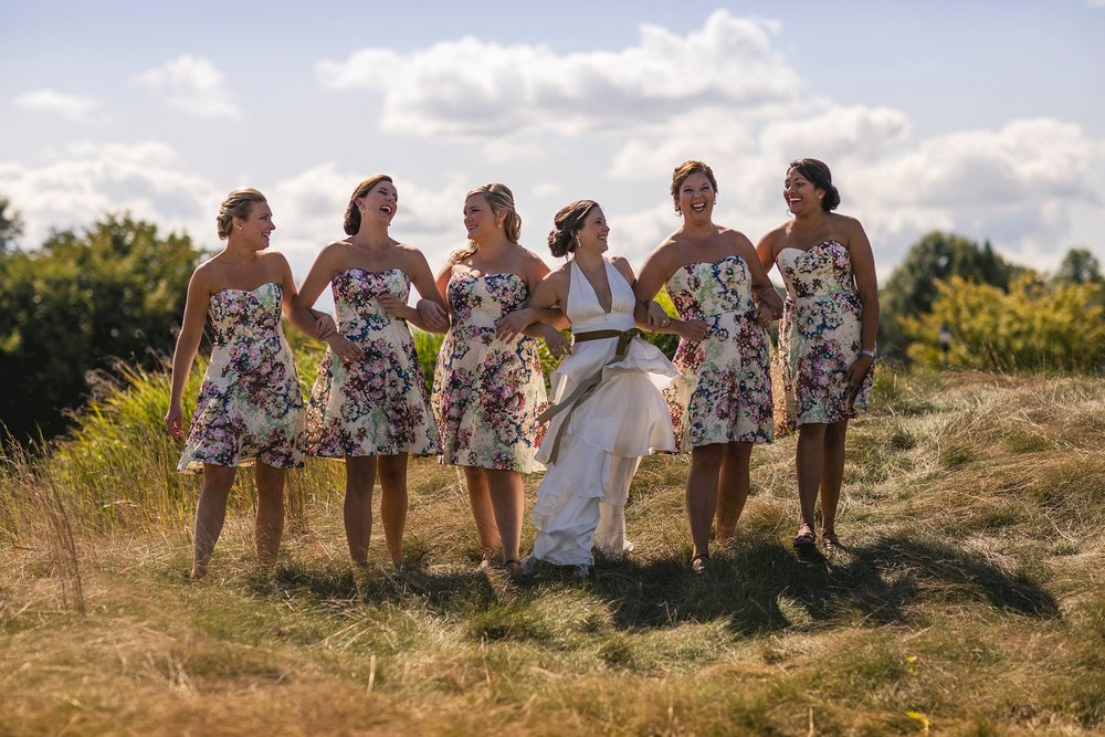 Bride and Bridmaids Floral Dresses.jpg