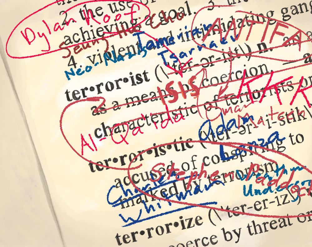 """'theirs and ours: terrorism's """"inclusivity"""" argument'"""