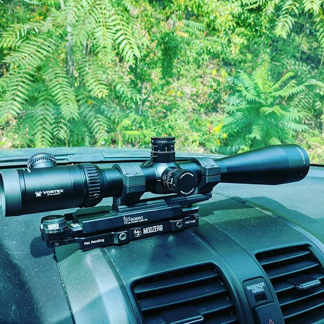 Final day of accuracy testing with the new scope.