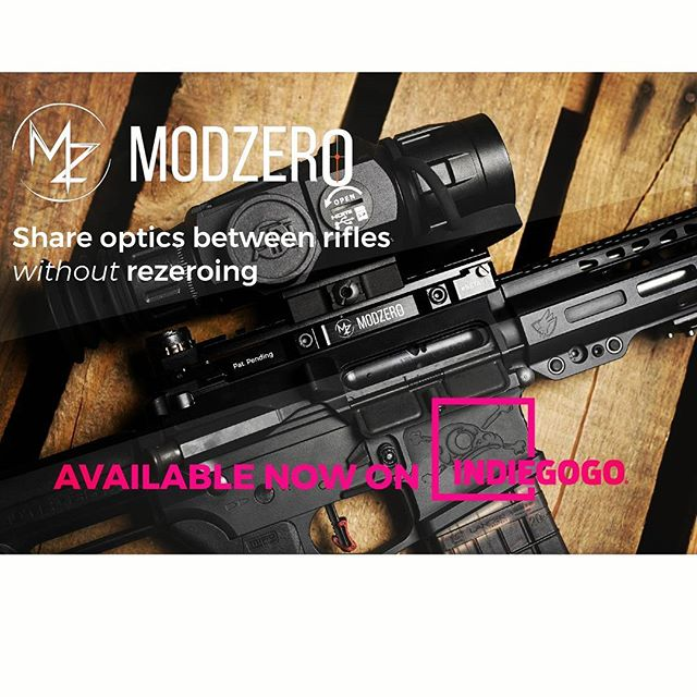 WE ARE LIVE! Link in bio to order now and save 35% on your M-Zero Scope Mount. First 225 orders only. ................................................................... Swap scopes between rifles without having to rezero using the NEW M-Zero Scope Mount. Our windage and elevation adjustable mount allows you to create a common zero between your rifles. Simple zero each scope and rifle once to a common zero and you are gtg.  Don't forget about the awesome customizable ballistic dial. So you can adjust for range, ammunition, barrel change, or suppressor without touching the scope.  #commonzero #modzerohq #modsquad #mzeroscopemount #mzero #guns #gunporn #rifle #ar10 #ar15 #pew #pewpewlife #pewpew #innovation #indiegogo #crowdfunding #indiegogo #shooting #tactical #practical #preorder