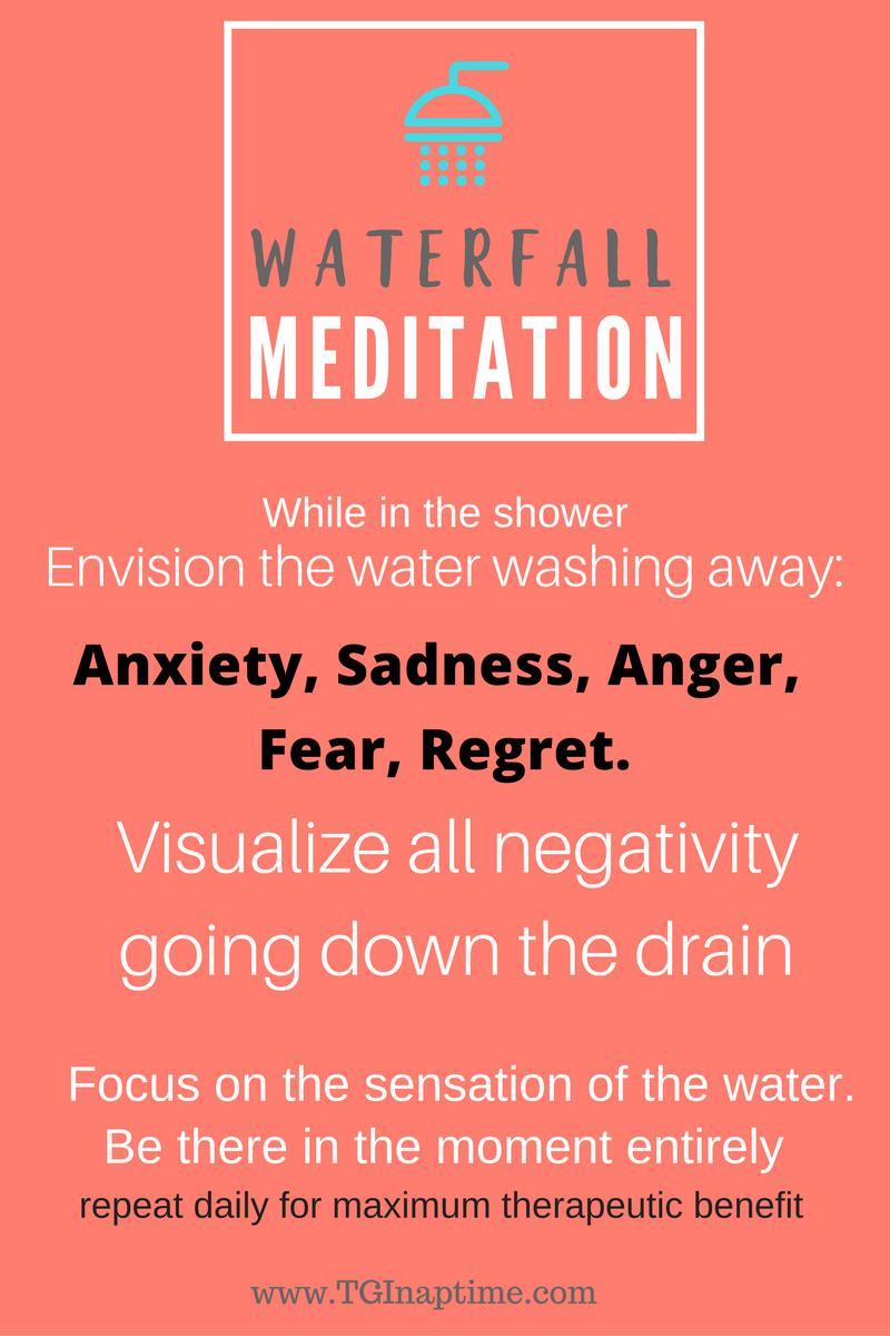 Waterfallmeditationinfographic