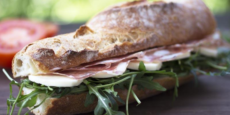 Täglich frische Sandwiches -