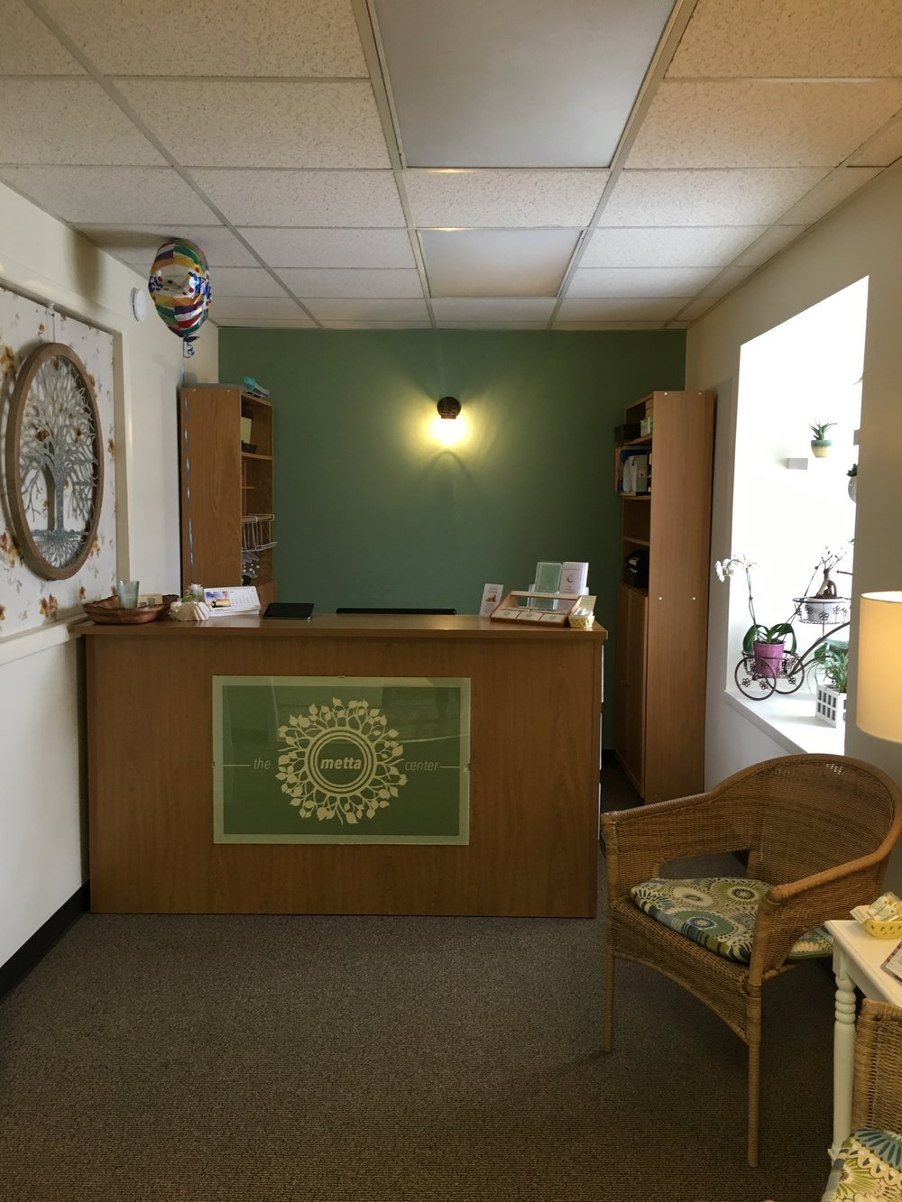 Our Front Desk Area