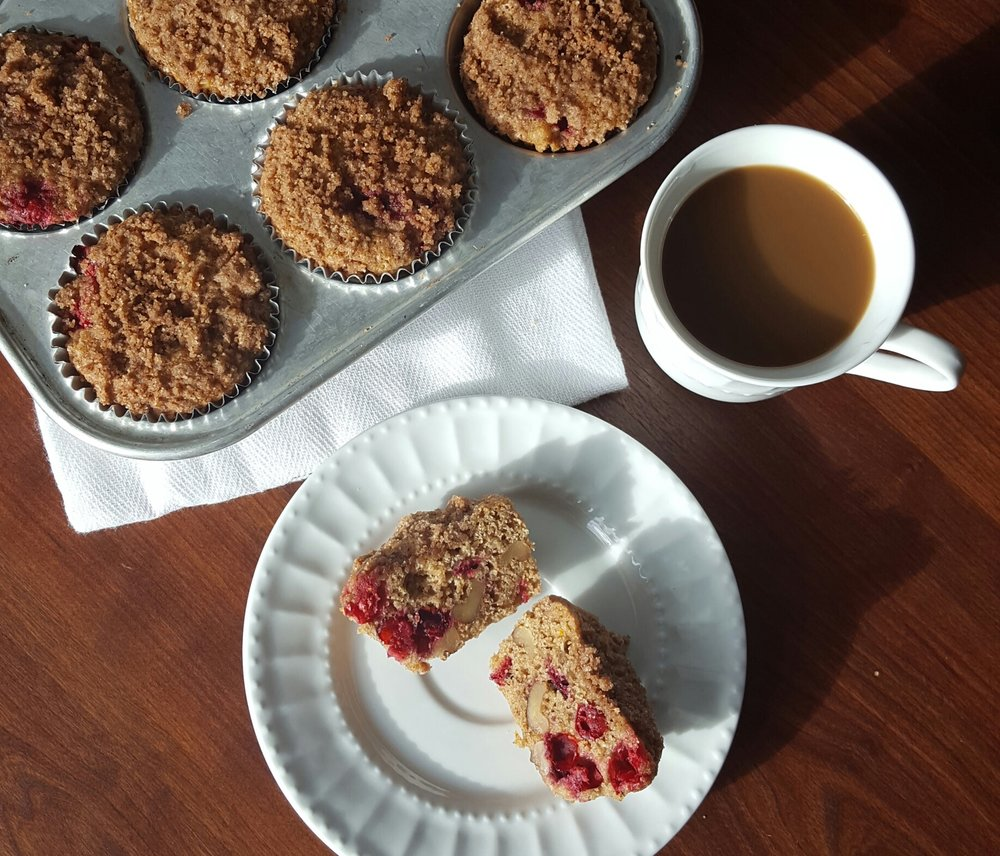 Cranberry Muffins; Photo & Bakery courtesy of Rachel Oliver.