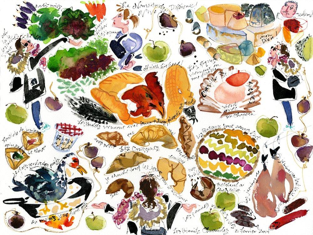 La Nourriture, Vive la Différence
