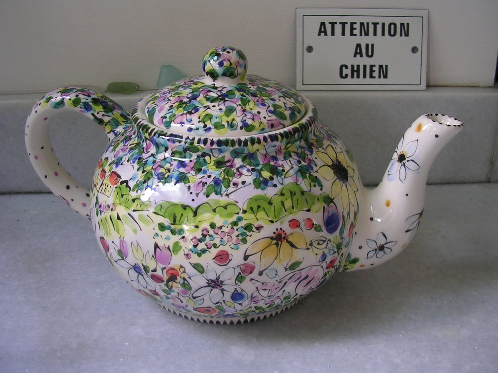 Country Teapot