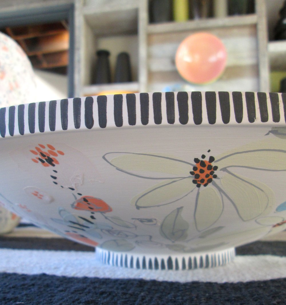 Sunflower Bowl (unfired)