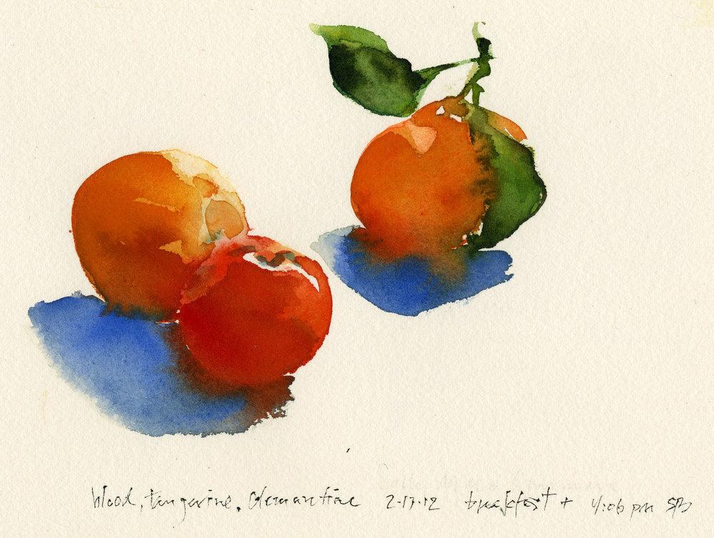 Blood, Tangerine, Clementine
