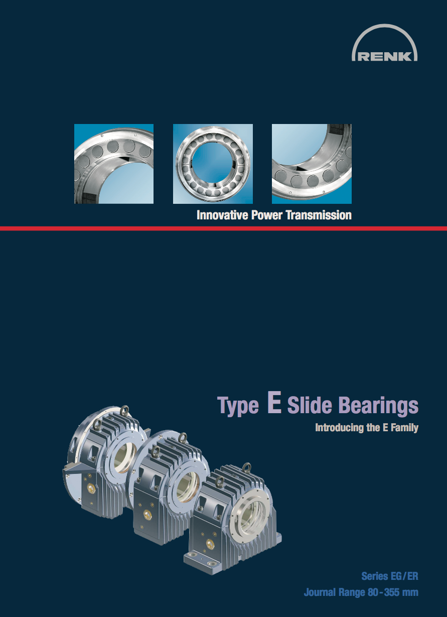 E-Type Bearing - EG/ER Shaft Diameters 80 - 355mm