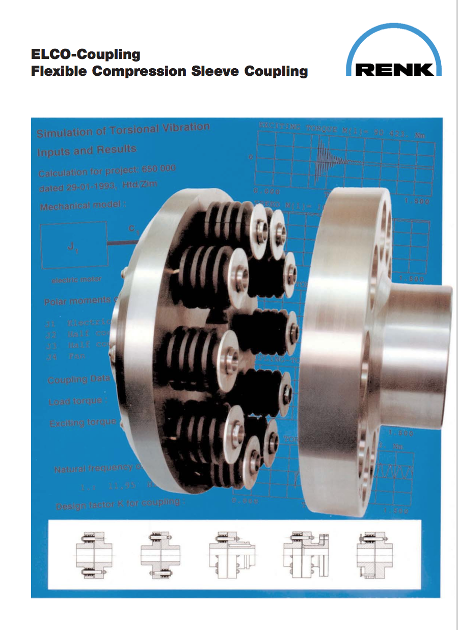 ELCO Coupling   Flexible Compression