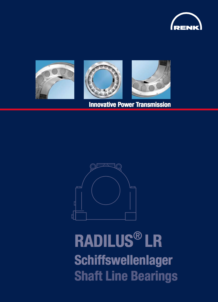 Radilus LR Shaft Line Bearings