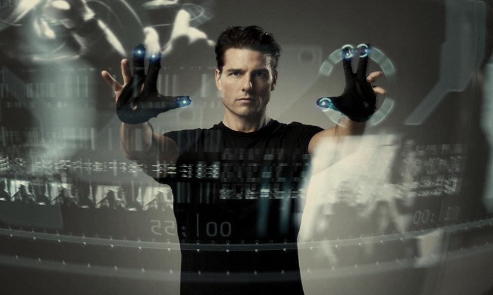 Tom Cruise in Minority Report | Gesture Inferface