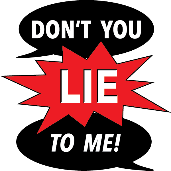 Don't You Lie To Me: I created the logo for an art podcast.