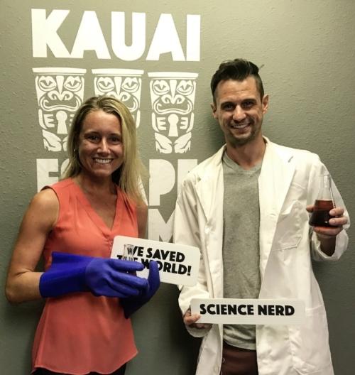 Kauai Escape Room_winners shot