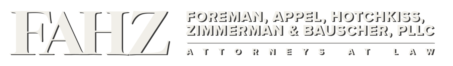 Law Offices of Foreman, Appel, Hotchkiss, Zimmerman & Bauscher, PLLC