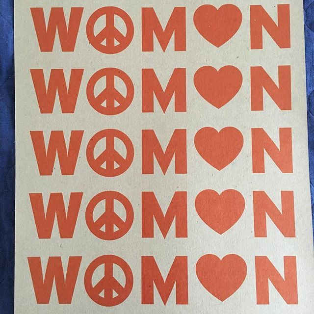 FREE prints for the taking for #womensmarch2018 !!! DM for address in Highland Park, LA for pickup. WOMEN print by @gottesss ✌️❤️✊