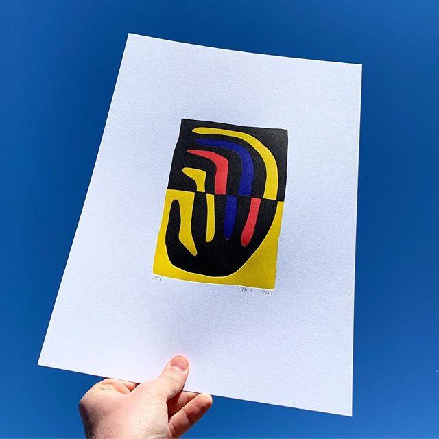 New print with @tmostudio @tmo_workshop 👋 #letterpress