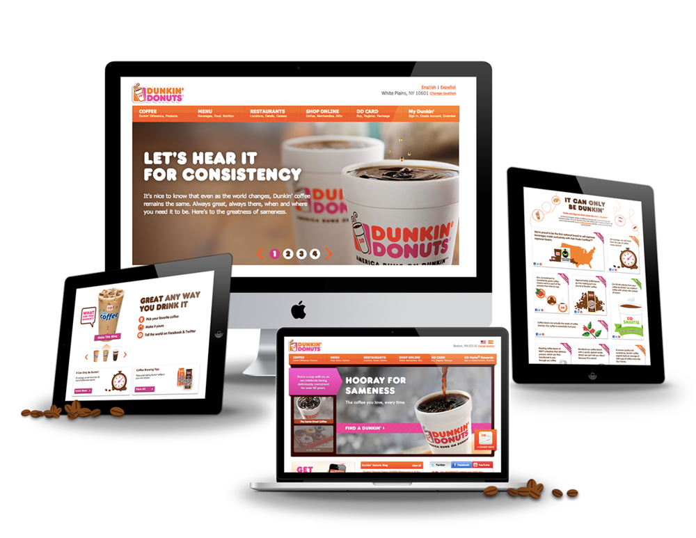 dunkin donuts coffee alyssa ackerman portfolio