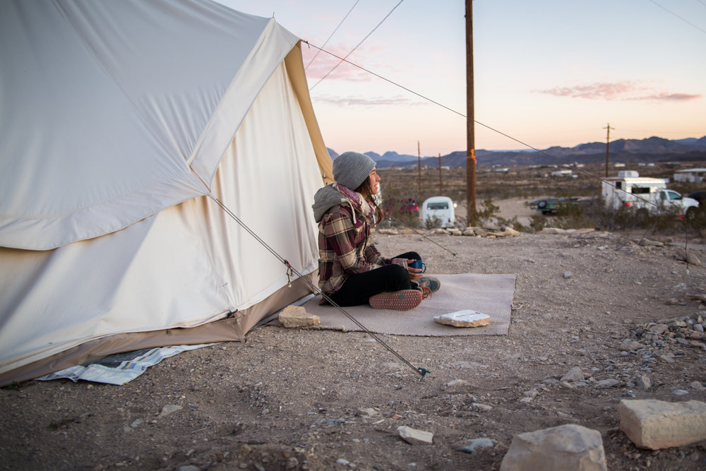 hipcamp terlingua texas travel photography blog
