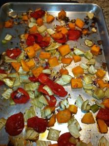 Roasted Vegetable & Quinoa Soup