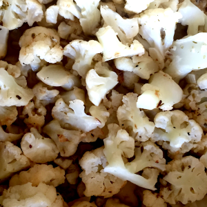 sauteed cauliflower