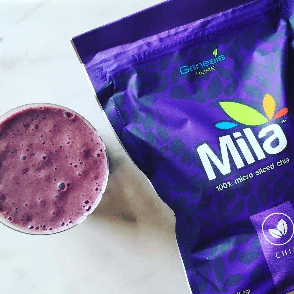 Blueberry Mila Smoothie