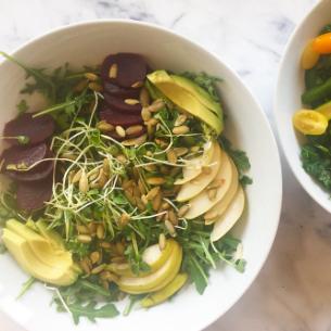Pear & Beet Salad