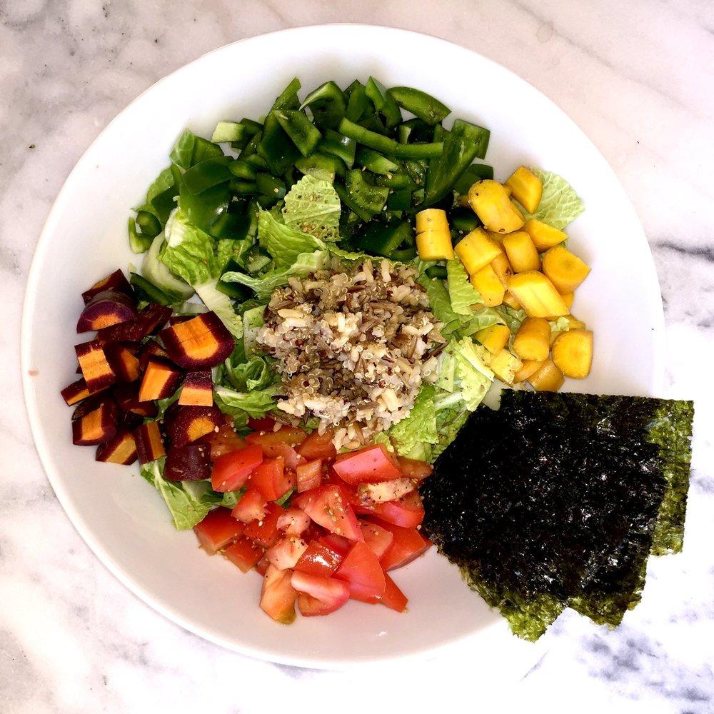 Rainbow & Grains Salad