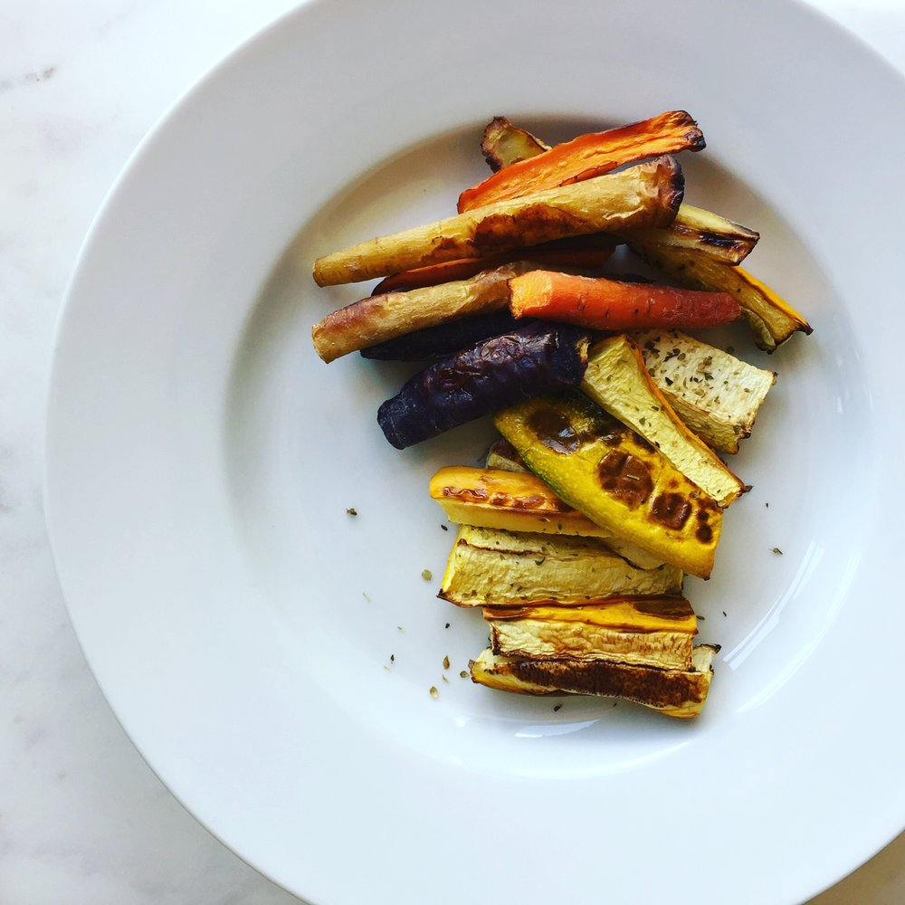Roasted Carrots & Squash