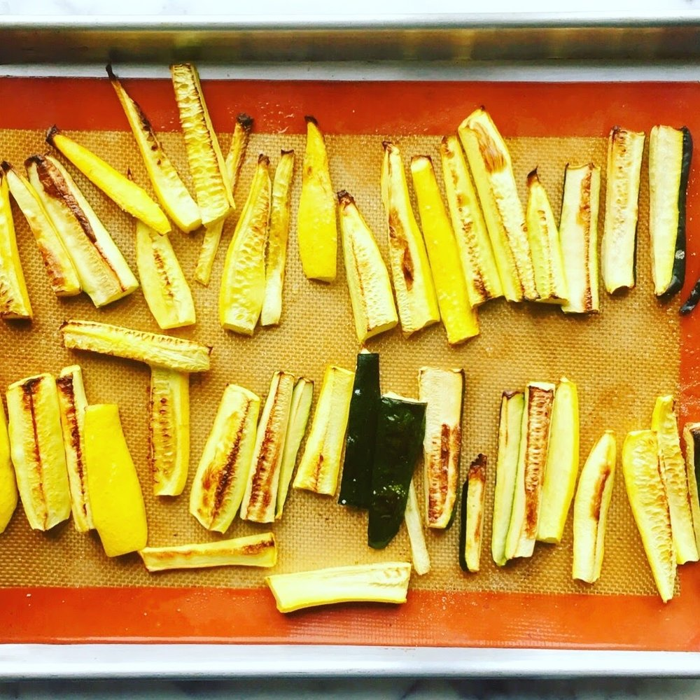 Roasted Zucchini & Yellow Squash