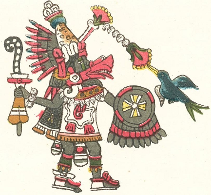 Quetzalcoatl, azteški bog ognja