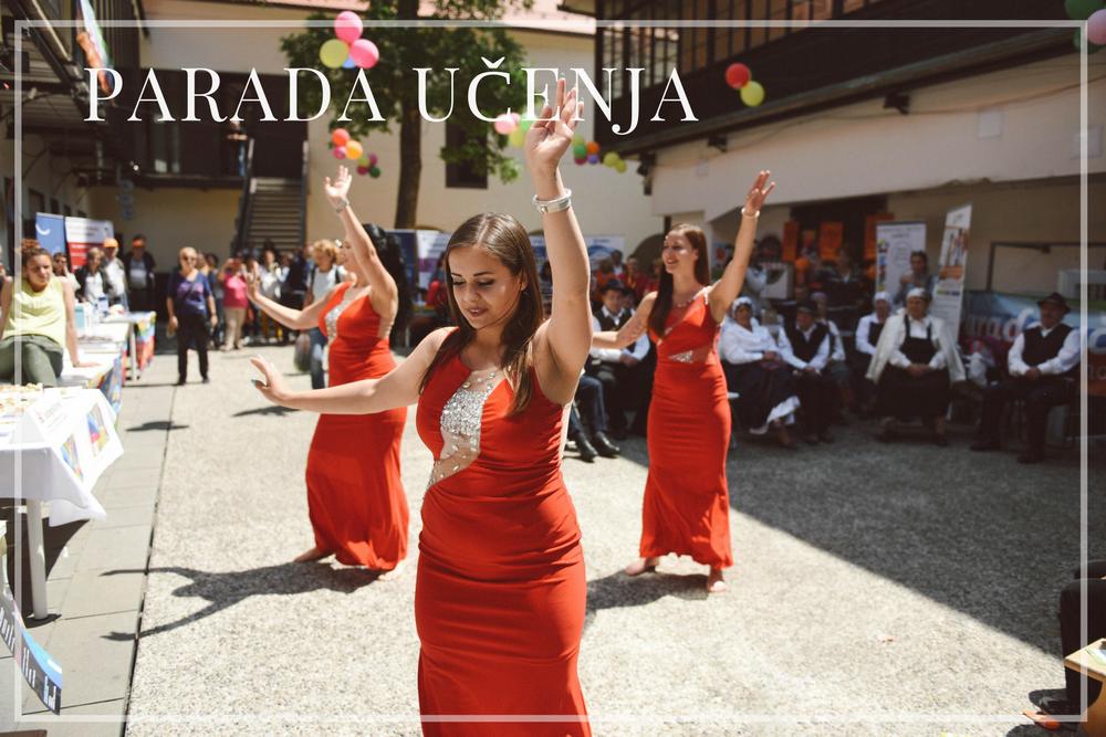 Parada učenja - Parada učenja je dogodek v sklopu Tedna vseživljenjskega učenja, promocijske kampanje na področju izobraževanja in učenja v Sloveniji. Projekt je usklajen z Andragoškim centrom Slovenije in je prirejen v sodelovanju s številnimi ustanovami, skupinami in posamezniki, s katerim se opozarja na pomembnost učenja v vseh življenjskih obdobjih.