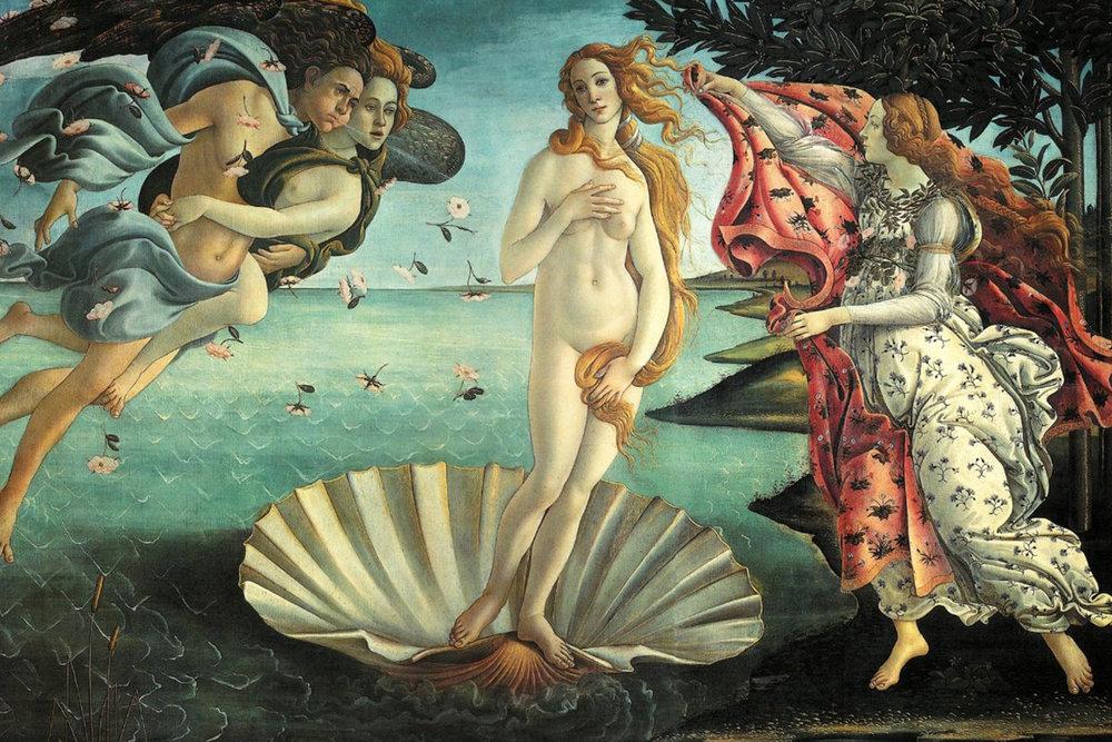 Venera, boginja lepote in njen dotik skozi čas - Venera, s katero povezujejo se številni Rimljani kot nasledniki Trojancev, eden teh je Julij Cezar, ki imel se je za potomca Eneja, praočeta Rima, čigar mati je nihče drug kot Venera, ima v teozofiji posebno mesto, saj naj bi od tam prišel Mojster modrosti Sanat Kumara s svojim spremstvom in na Zemlji postavil Šambalo ter v glavnem templju vzpostavil plamen Luči, iskro Kristusove zavesti, Ljubezen.