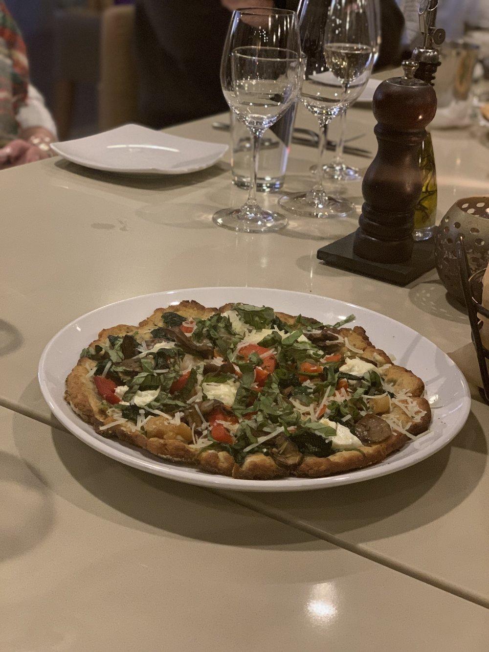 Wood-Fire VEGANO Pizza