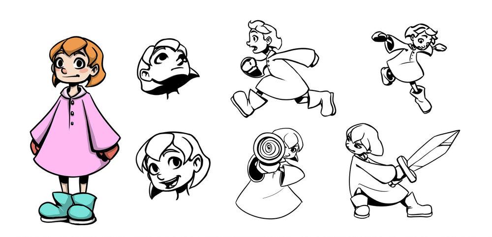 """""""Stargirl"""" Character Design"""