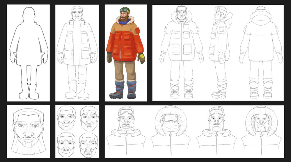 """Arctic"" Character Design"