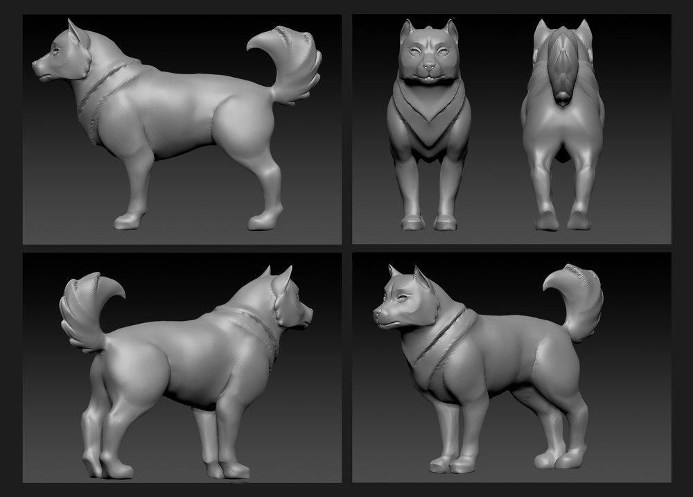 """Arctic"" Dog Modelling"