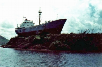 Our ship of state urgently needs to chart a new course. (Bluefields, Nicaragua 1989)