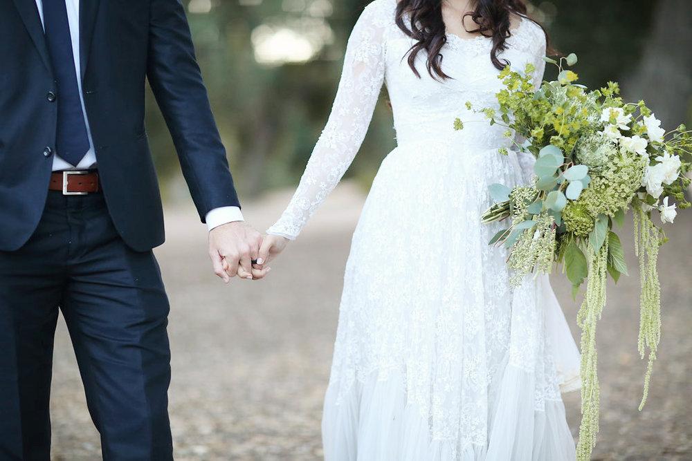 Greenery Bridal Bouquet