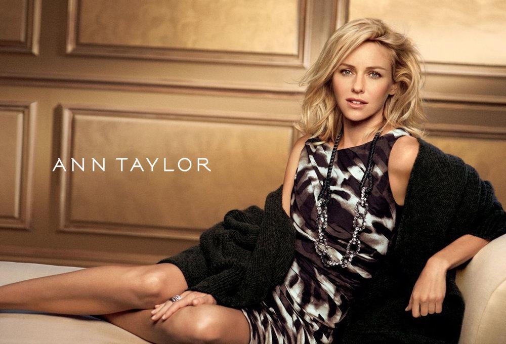 Ann Taylor x Naomi Watts