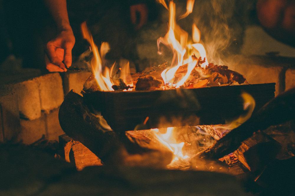Fireside friendship