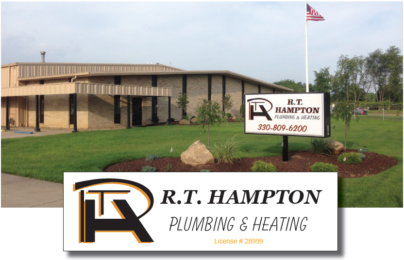 RT Hampton Plumbing and Heating 1225 Industrial Avenue SW Massillon, Ohio 44647 (330) 809.6200
