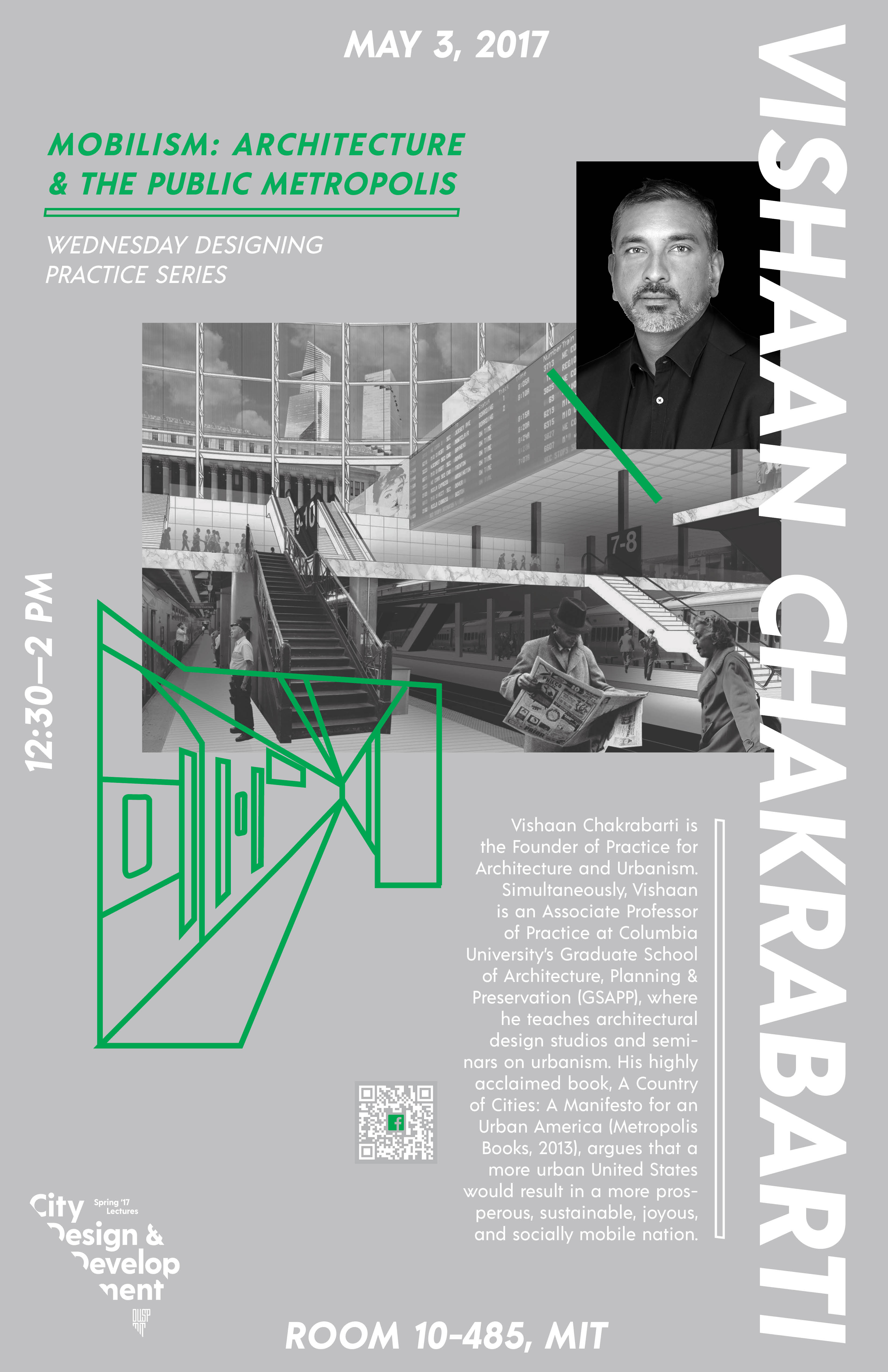 Vishaan Chakrabarti: Mobilism: Architecture and the Public Metropolis Poster