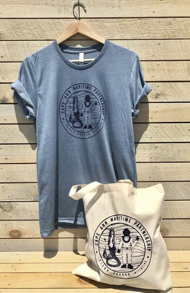 Clean Harbor Initiative Tee with CAMP logo, sizes S-XXL Pick yours up in store today or  order online .