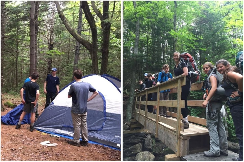 Intro To Backpacking    Join us on a backpacking expedition to the Monadnock-Sunapee Greenway in N.H. While enjoying all the beauty of Mother Nature attendees will learn the basics of backpacking, fire building, shelter building, finding and treating water, and the concept of leaving no trace. In addition to the educational experience, this program will include a focus of team building, problem solving, and, of course, enjoying the great outdoors.