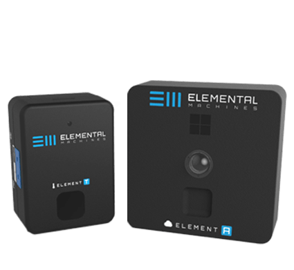 Elemental Machines    - Sensors (San Francisco)   Provides deep, data-driven insights into equipment performance and metadata about the lab environment. The results? Clarity. Transparency. Repeatability.